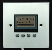 LED DMX Wall Mounted Controller