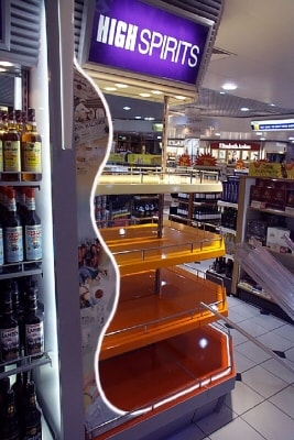 Duty Free Shop at Manchester Airport