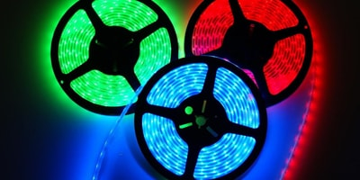 Coloured RGB LED Lights
