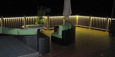 LED Decking Lights Header