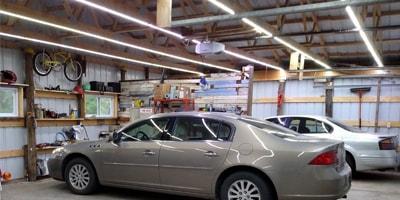LED Garage Lights Header