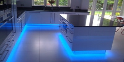 LED Kitchen Lighting Header