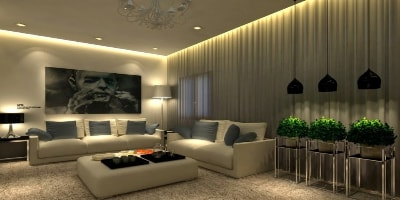 Gentil LED Living Room Lights Header