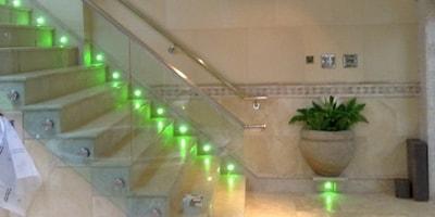 LED Stair Lights Header